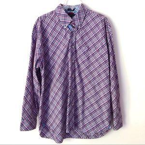 Men's Tommy Hilfiger Plaid Button Front Shirt